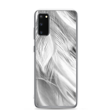 Samsung Galaxy S20 White Feathers Samsung Case by Design Express