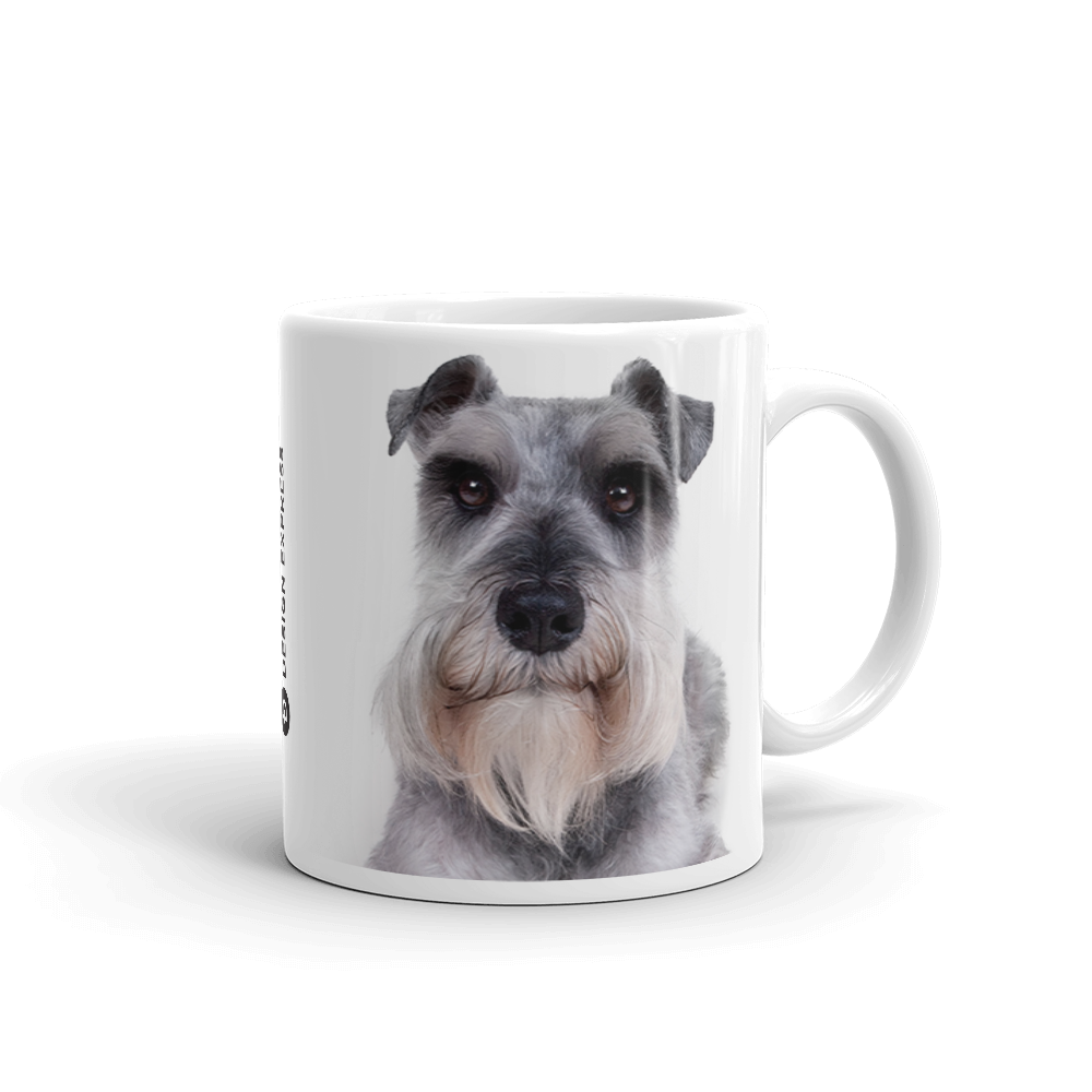 Default Title Schnauzer Dog Mug Mugs by Design Express