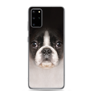 Samsung Galaxy S20 Plus Boston Terrier Dog Samsung Case by Design Express