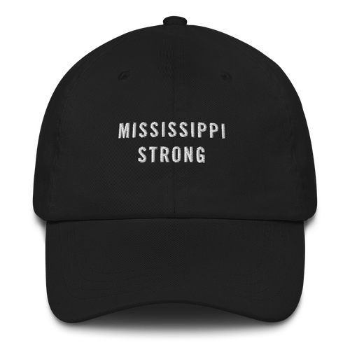 Default Title Mississippi Strong Baseball Cap Baseball Caps by Design Express
