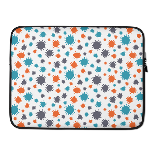 15 in Corona Virus Laptop Sleeve by Design Express