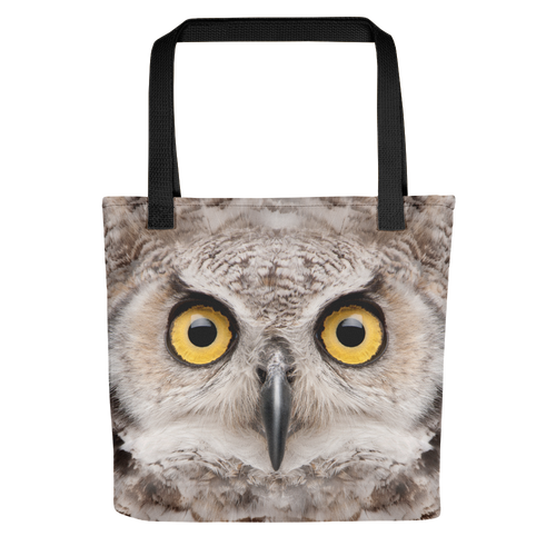 Default Title Great Horned Owl Tote bag by Design Express