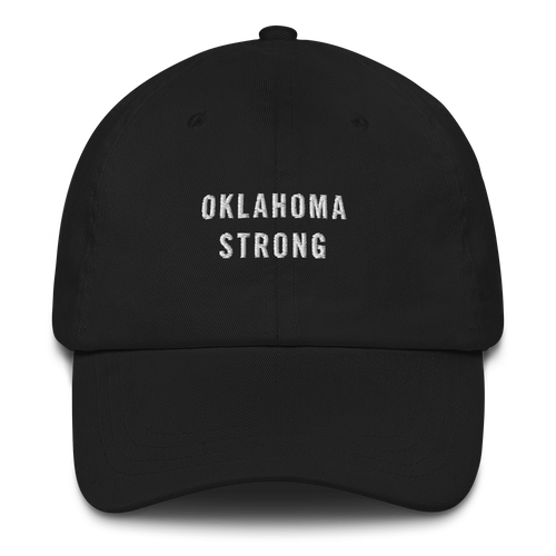Default Title Oklahoma Strong Baseball Cap Baseball Caps by Design Express