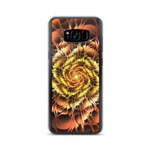 Samsung Galaxy S8+ Abstract Flower 01 Samsung Case by Design Express