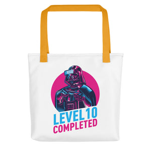 Yellow Darth Vader Level 10 Completed Tote bag Totes by Design Express