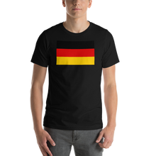 Black / S Germany Flag Short-Sleeve Unisex T-Shirt by Design Express