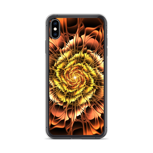iPhone XS Max Abstract Flower 01 iPhone Case by Design Express