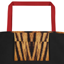 "Tiger ""All Over Animal"" 4 Beach Bag Totes by Design Express"