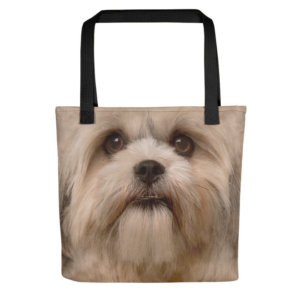 Default Title Shih Tzu Dog Tote Bag Totes by Design Express
