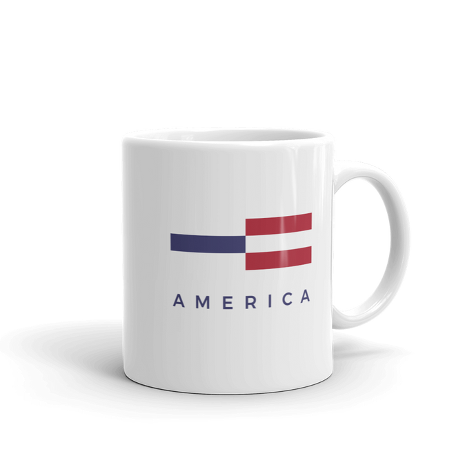 America Tower Pattern Mug