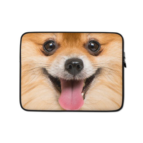 13 in Pomeranian Dog Laptop Sleeve by Design Express