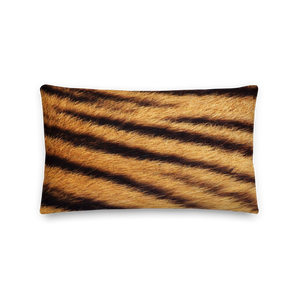 "Default Title Tiger ""All Over Animal"" 4 Rectangular Premium Pillow by Design Express"