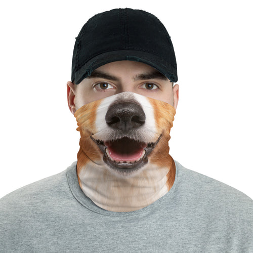 Default Title Border Collie Dog Neck Gaiter Masks by Design Express