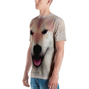 "Shiba inu Dog ""All Over Animal"" Men's T-shirt All Over T-Shirts by Design Express"