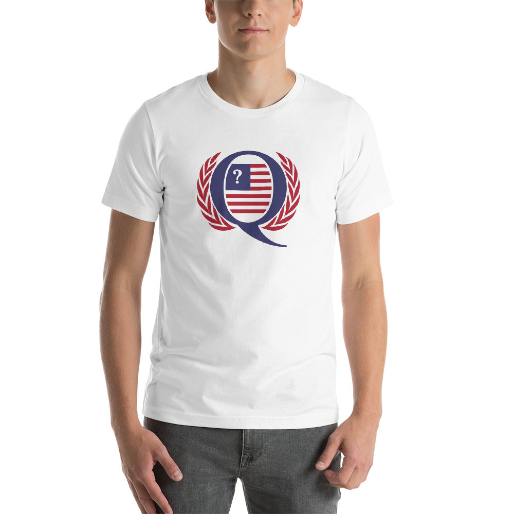 XS Q America UN Short-Sleeve Unisex T-Shirt by Design Express