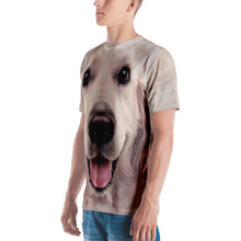 "Golden Retriever ""All Over Animal"" Men's T-shirt All Over T-Shirts by Design Express"