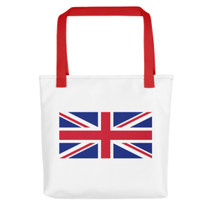 "Red United Kingdom Flag ""Solo"" Tote bag Totes by Design Express"