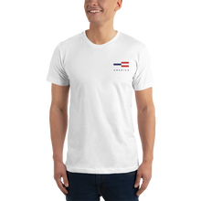 America Tower Pattern Embroidered T-Shirt by Design Express