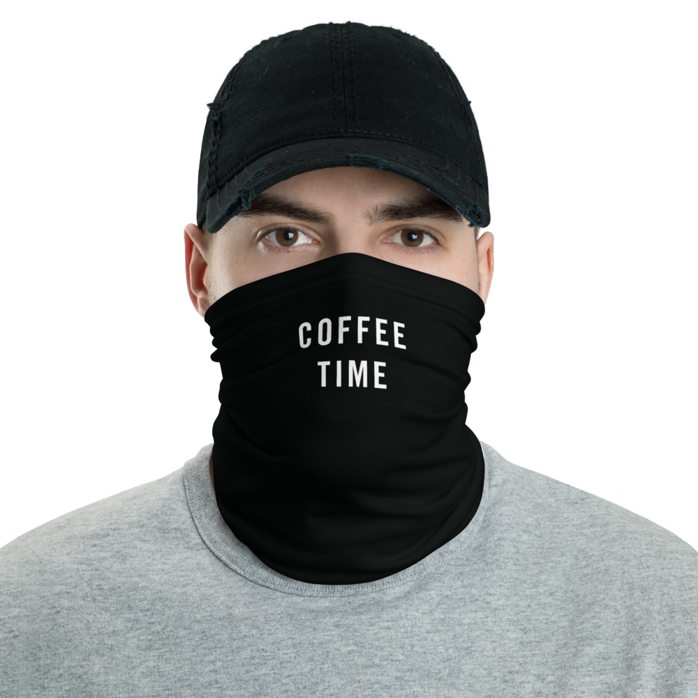 Default Title Coffee Time Neck Gaiter Masks by Design Express