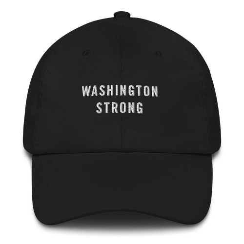 Default Title Washington Strong Baseball Cap Baseball Caps by Design Express