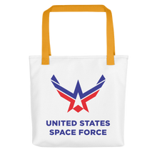 Yellow United States Space Force Tote bag Totes by Design Express
