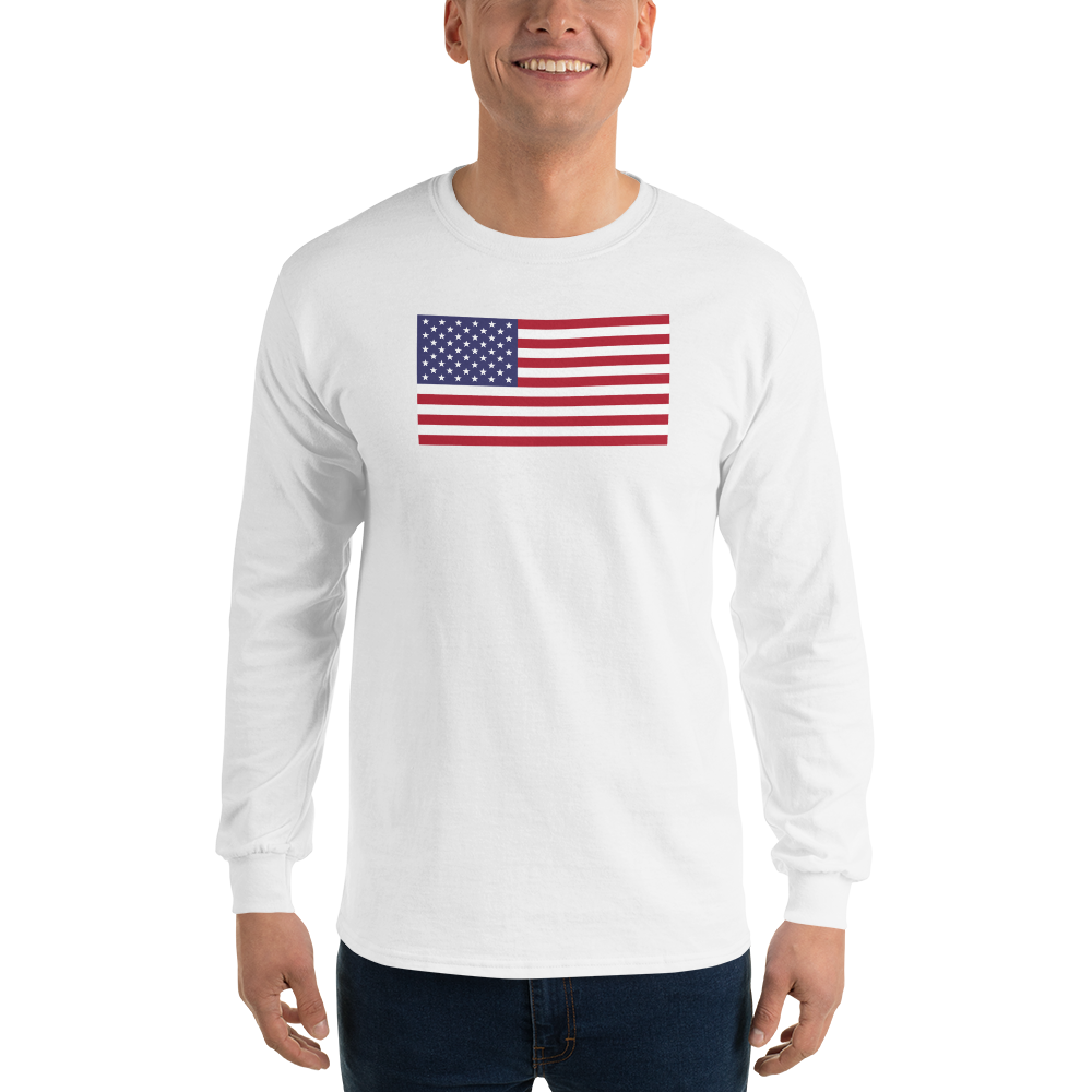 White / S United States Flag