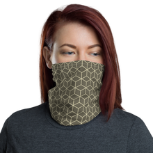 Default Title Diamond Makara Pearl Lusta Pattern Neck Gaiter Masks by Design Express