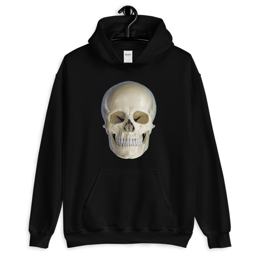 S Skull Head Unisex Hoodie by Design Express