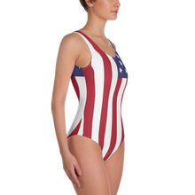"United States Flag ""Solo"" One-Piece Swimsuit"