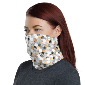 Hexagonal Pattern Neck Gaiter Masks by Design Express