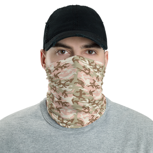 Default Title Peach Desert Camo Neck Gaiter Masks by Design Express