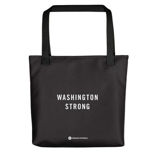 Default Title Washington Strong Tote bag by Design Express