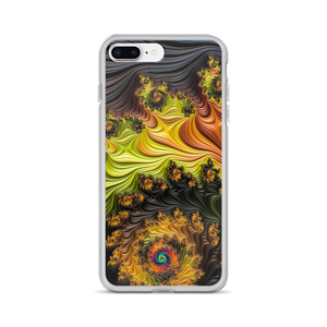 iPhone 7 Plus/8 Plus Colourful Fractals iPhone Case by Design Express