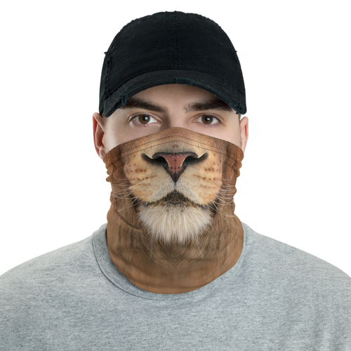 Default Title Lion Neck Gaiter Masks by Design Express