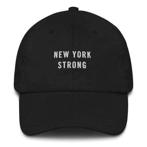 Default Title New York Strong Baseball Cap Baseball Caps by Design Express