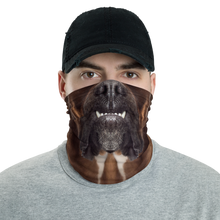 Default Title Boxer Dog Neck Gaiter Masks by Design Express