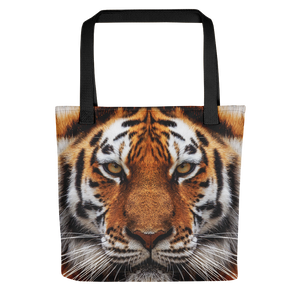"Black Tiger ""All Over Animal"" Tote bag Totes by Design Express"