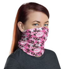 Pink Camo Neck Gaiter Masks by Design Express
