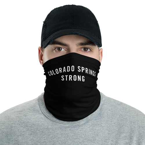 Default Title Colorado Springs Strong Neck Gaiter Masks by Design Express