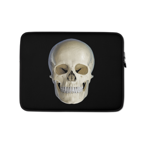 13 in Skull Head Laptop Sleeve by Design Express