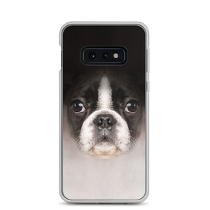 Samsung Galaxy S10e Boston Terrier Dog Samsung Case by Design Express