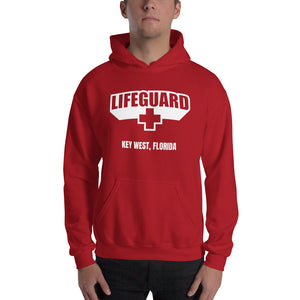 Lifeguard [Customizable] Classic Red Hoodie by Design Express