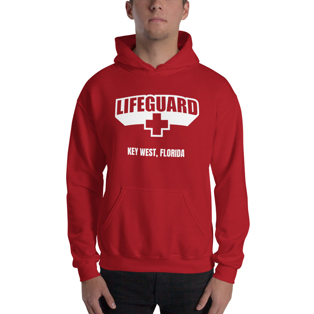 Lifeguard [Customizable] Classic Red Hoodie