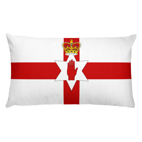 Default Title Northern Ireland Flag Allover Print Rectangular Pillow Home by Design Express