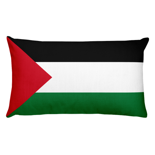 Default Title Palestine Flag Allover Print Rectangular Pillow Home by Design Express