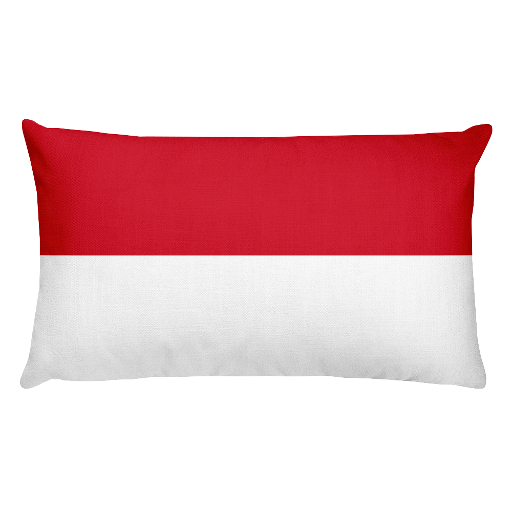 Default Title Papua Flag Allover Print Rectangular Pillow Home by Design Express