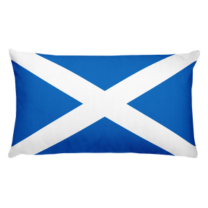 Default Title Scotland Flag Allover Print Rectangular Pillow Home by Design Express