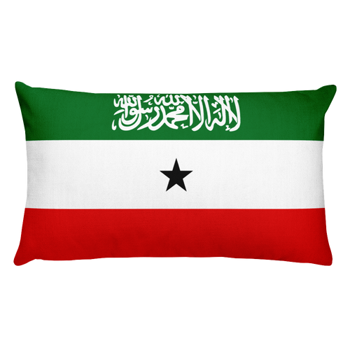 Default Title Somaliland Flag Allover Print Rectangular Pillow Home by Design Express