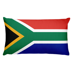 Default Title South Africa Flag Allover Print Rectangular Pillow Home by Design Express