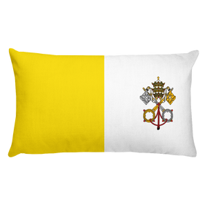 Default Title Vatican City Flag Allover Print Rectangular Pillow Home by Design Express